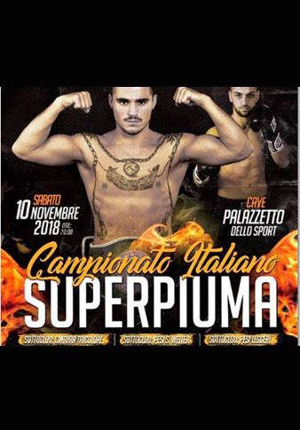 RIUNIONE CAVE   TITOLO ITALIANO SUPER PIUMA MAGNESI VS CARAFA