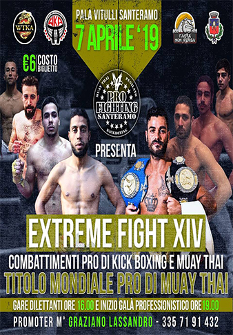 EXTREME FIGHT 14