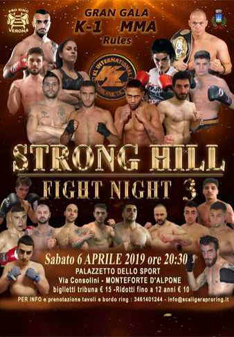 STRONG HILL FIGHT NIGHT